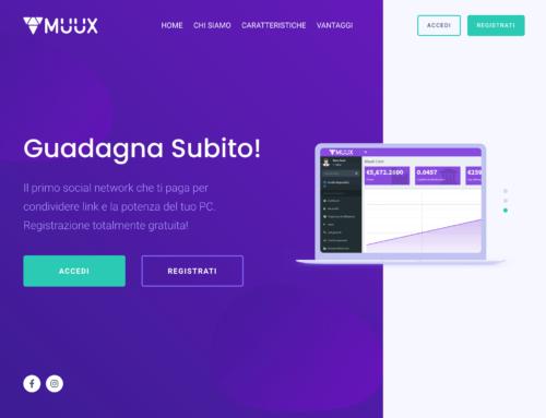 Arriva MUUX il primo social network finanziario del web